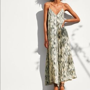 Zara tie-dyed maxi dress